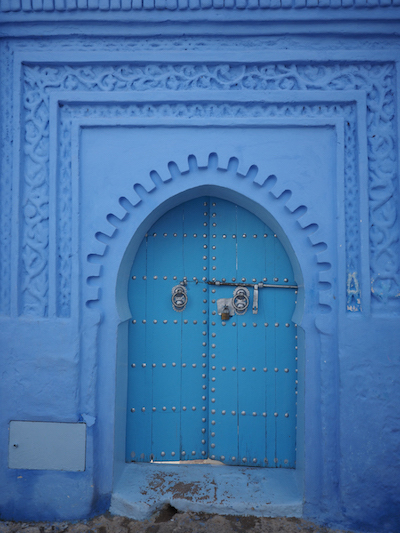 Blaues Tor in Chefchaouen